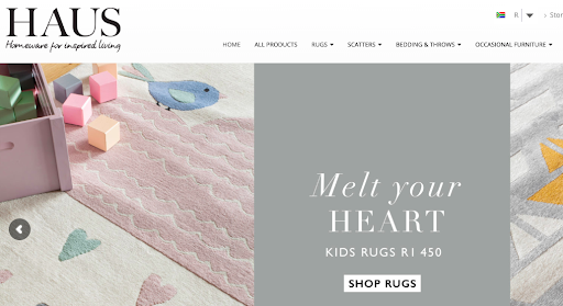Haus by Hertex Ecommerce Store - eCommerce Stores: Search All Products