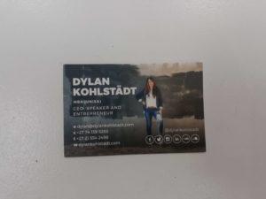 Dylan Kohlstadt Business Card