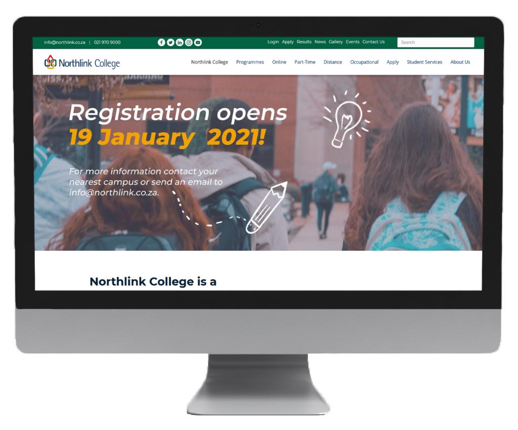 Northlink website design